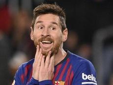 Messi é a preocupação do Lyon. Goal