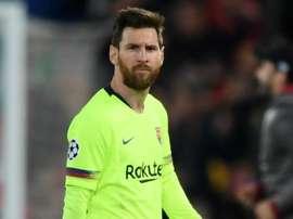 Lionel Messi Barcelone 2018-19. EFE