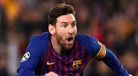 Messi comemora fim do trauma na Champions. Goal