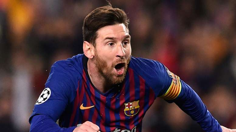 Messi comemora fim do trauma na Champions. Goal