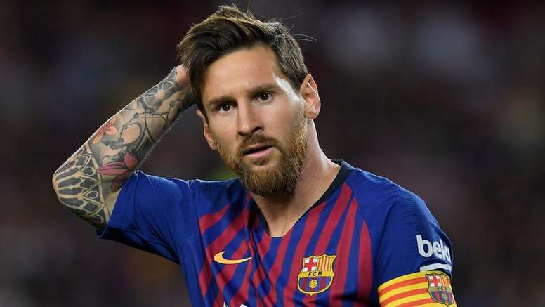 Lionel Messi Barcelona 2018.  Goal