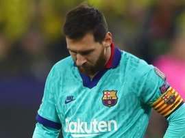 Só Messi não é garantia: Barcelona repete roteiro na Liga dos Campeões