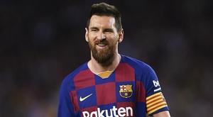 Messi, il difensore che lo marcò al debutto. AFP