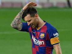 Como, quando e por que Messi decidiu sair do Barcelona. AFP