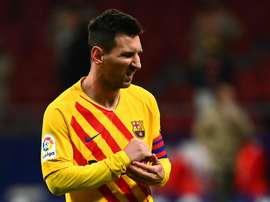 Lewandowski sur Messi. Goal