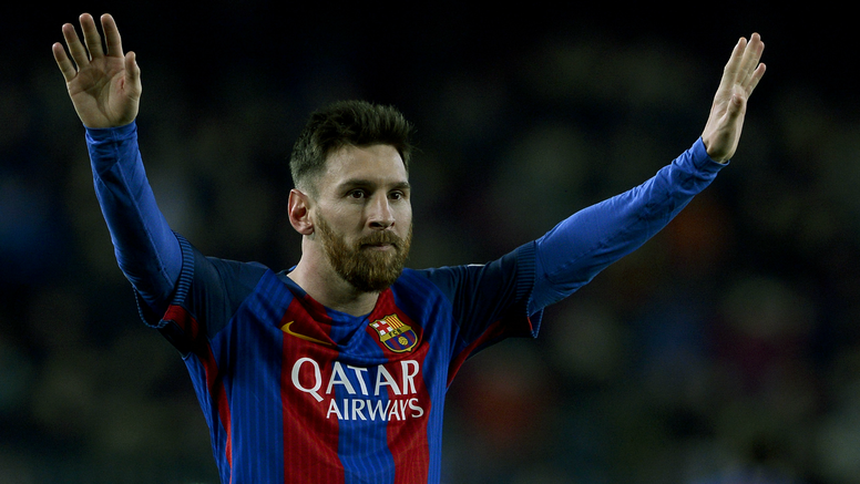Lionel Messi is Barcelona's treasure. Goal