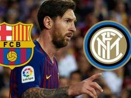 Messi na Inter não é um sonho tão impossível. AFP