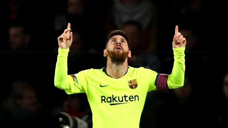 Messi, encore acclamé. Goal