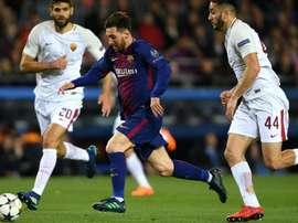 Barça, mais perto da semi da Champions. Goal