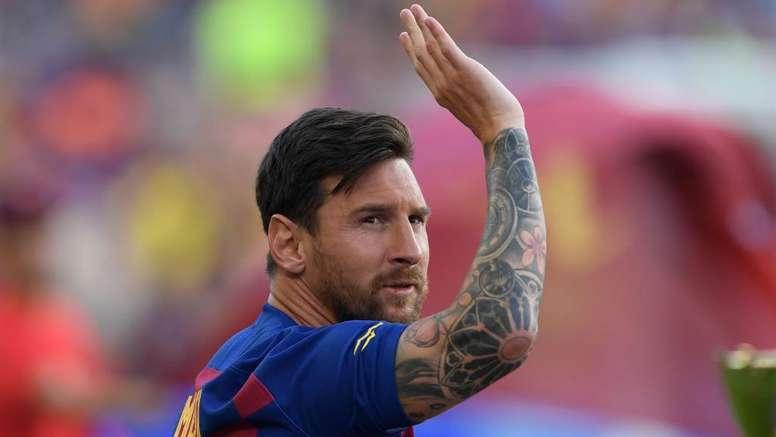 Messi nunca ficou tanto tempo sem jogar pelo Barcelona. Goal