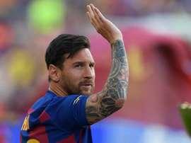 Messi misses Barca's LaLiga opener. GOAL