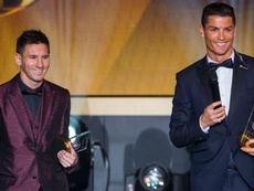 Messi and Ronaldo could to join forces at Inter Miami. GOAL