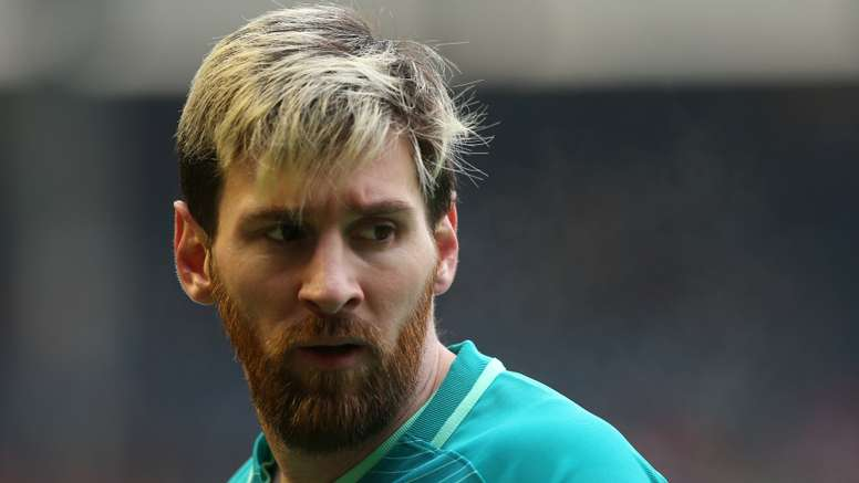Messi's situation is uncertain. Goal