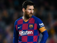 Messi comfortable at Barcelona, says Scaloni