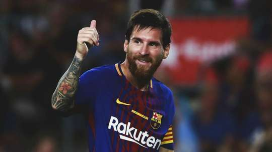 Messi has been linked with a move to Beckham's franchise Inter Miami. GOAL