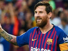 Messi recently assumed the Barcelona captaincy. GOAL