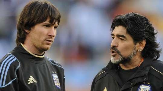 Maradona su Messi: 'L'ho visto piangere come un bambino'