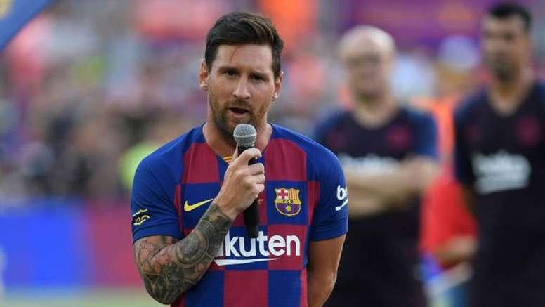 """Messi acha que Barça não fez """"todo o possível"""" para ter Neymar"""