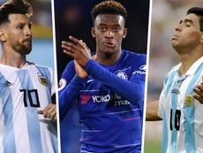 Hudson-Odoi rendeu-se a Messi. Goal