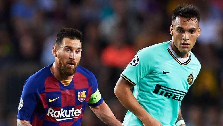 Messi elogia Lautaro: 'È spettacolare, spero venga qui'