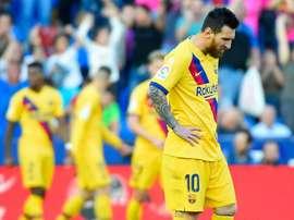 Messi su rigore porta avanti i suoi contro il Levante. Goal