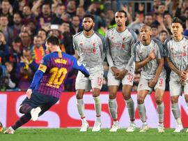 Gol de falta de Messi é eleito o mais bonito da Champions. Goal
