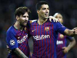 Messi and Suarez the world's best strike partnership, says Pique.