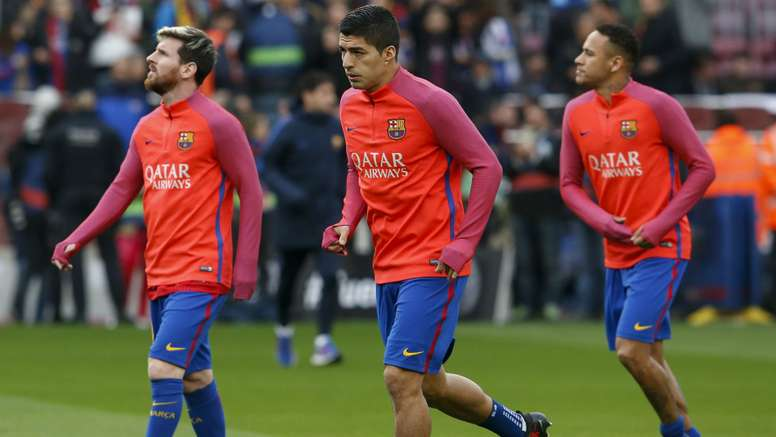 Lionel Messi, Luis Suarez and Neymar have been given an extended break. Goal