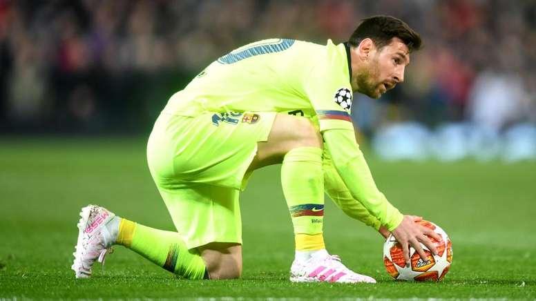 Messi não marca nos quartos desde 2013. Goal