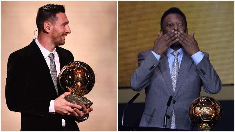 Pallone d'Oro, Messi a quota sei: ma Pelé sarebbe a quota sette. Goal