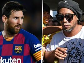 Messi não 'tirou' Ronaldinho da prisão no Paraguai - mas de onde surgiu o boato?