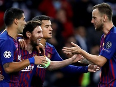 Messi se destaca e o Barcelona vence a segunda na Champions. Goal