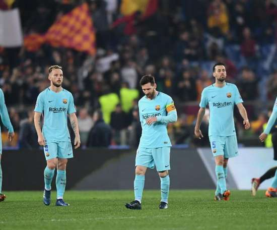 Barcelona crashed out of the Champions League last season. Goal