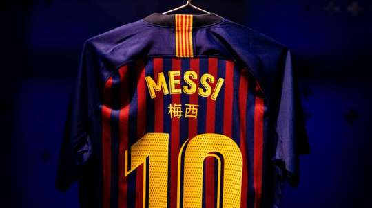 Barcelona players to wear names in Chinese in Copa Clasico