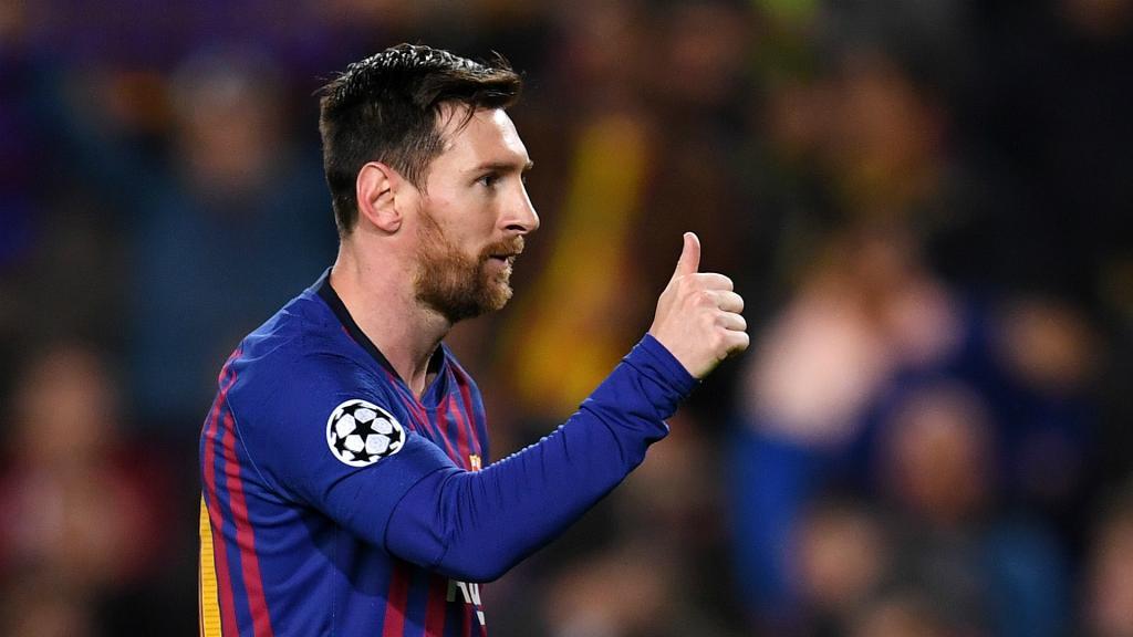 Messi stars as Barca reach Champions League quarters