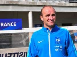 Lionel Rouxel, France U17. GOAL