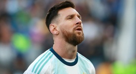 Lionel Messi is serving a suspension handed down following the Copa America