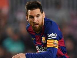 Lionel Messi is making history for Barca this evening in the 'Clasico'. GOAL