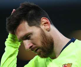 Messi: Barca starting from scratch. GOAL