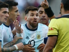Messi given three-month Argentina ban for accusing CONMEBOL of 'corruption'. Goal