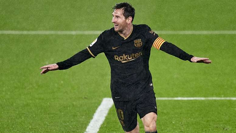 Messi less obsessed with scoring. Goal