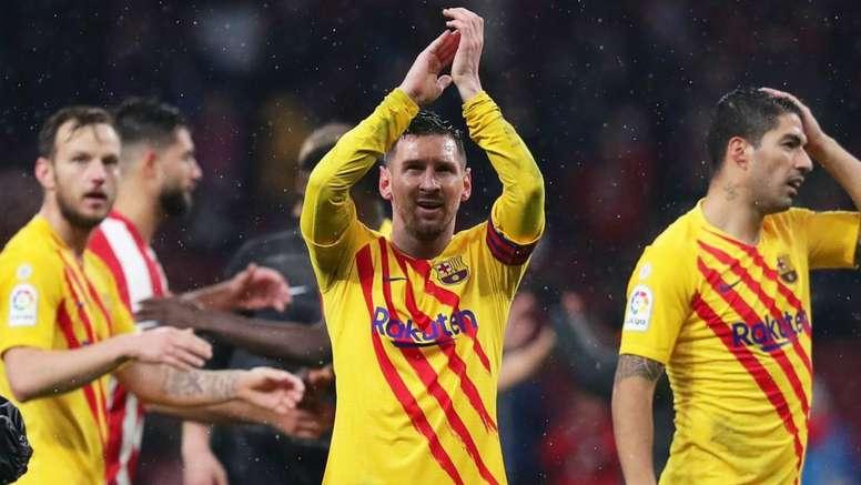 Valverde hails Messi