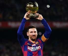Messi hat-trick a good way to celebrate Ballon d'Or – Barca boss Valverde