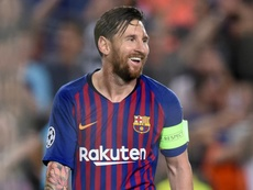 Messi was on target three times in the match. GOAL