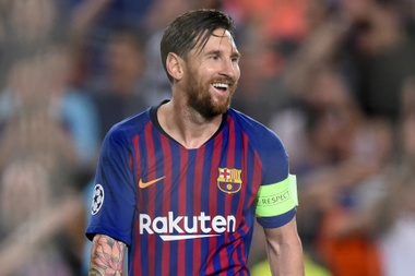 Messi was not in the top three of the Best awards. GOAL