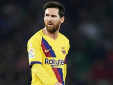 Messi makes life easy – De Jong. AFP