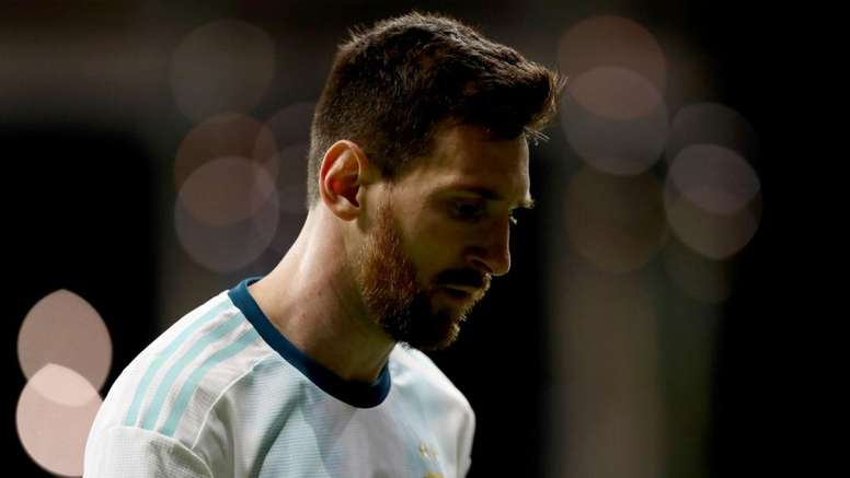 Messi still has not won any majour trophies with his national team. GOAL
