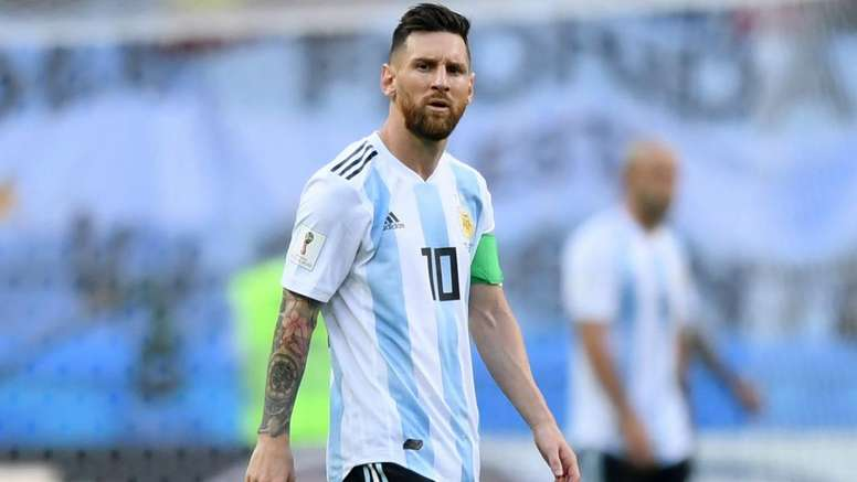 Scaloni refused to be drawn on Messi's Argentina future. GOAL
