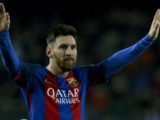 Lionel Messi was praised by Espanyol manager Quique Sanchez Flores. Goal