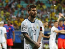 Argentina's Lionel Messi need's a win tonight for Argentina. GOAL